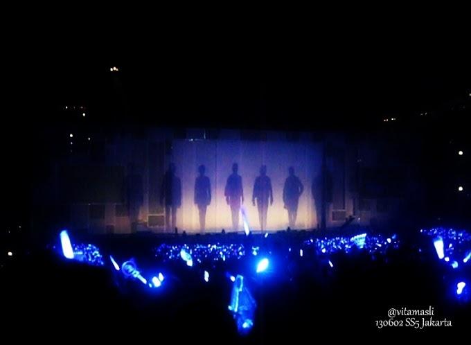 Super Show 5 In Jakarta :  Super Junior World Tour For ELF Anniversary (Part 2)