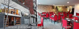 Soho thai restaurante Santiago comedor fachada