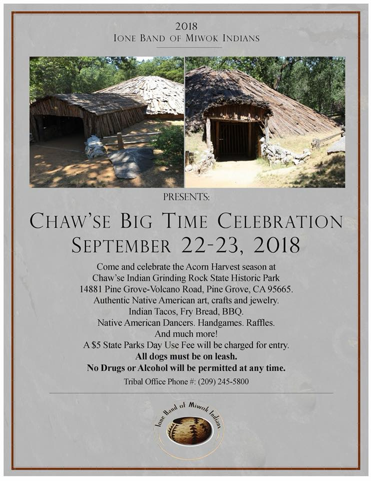 Chaw'se Big Time - Sept 22 & 23
