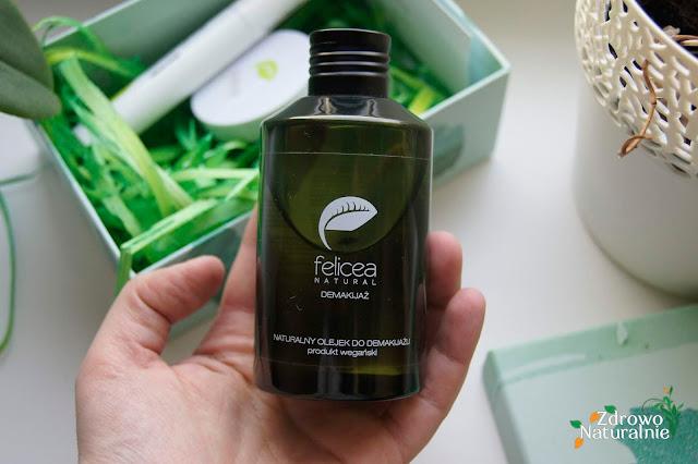 Felicea - Naturalny olejek do demakijażu