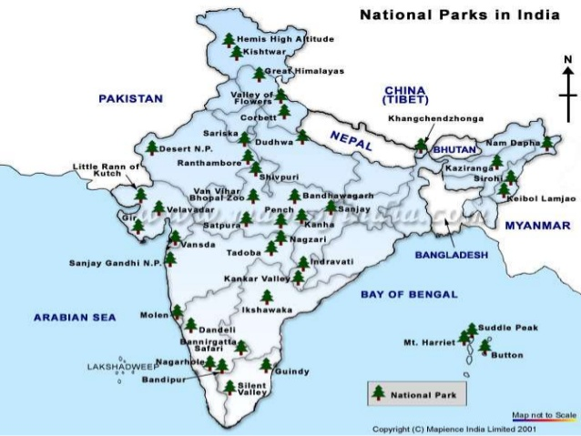 national parks and sanctuaries in india These national parks and sanctuaries in india are the top places to see wildlife such as tigers, lions, elephants, rhinoceros, leopards, and wild ass.