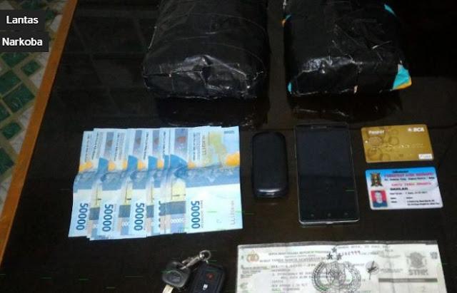 Polisi Berhasil Mengamankan 2Kg Sabu