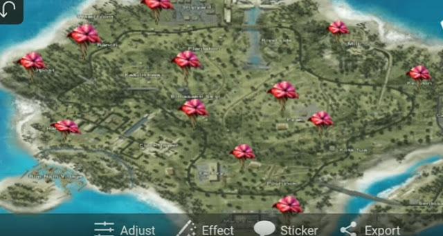 Lokasi Jamur Level 4 di Free Fire Paling Banyak Ditemukan!