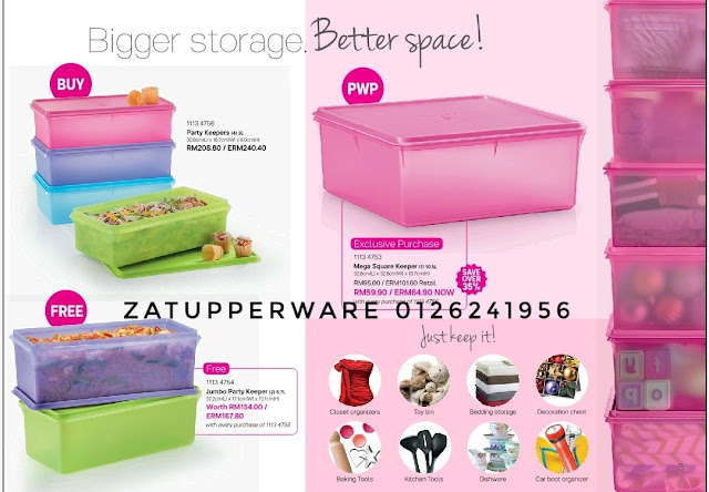 Tupperware Mini Catalogue 1st November - 30th November 2017