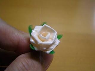 Cara Membuat Bunga mawar sedotan