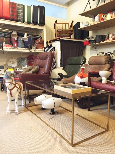 loja vintage, a Porta Verde, móveis e decoração vintage