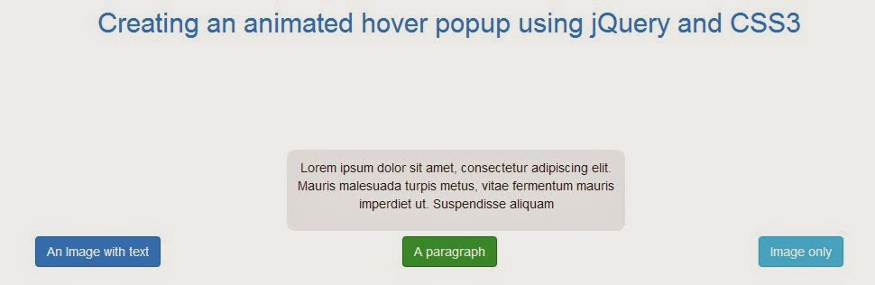 Creating an awesome animated hover popup using jQuery and