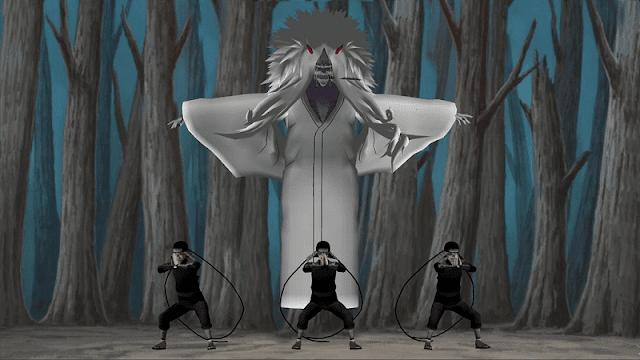 shiki fujin adalah jutsu terlarang