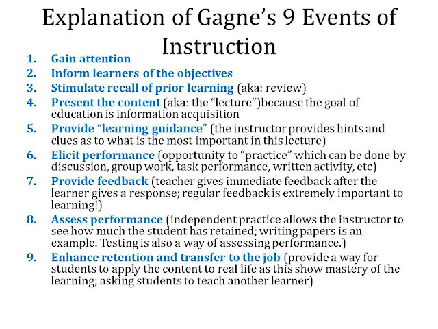 ?Gagne's Eight Distinctive Types of Learning Essay