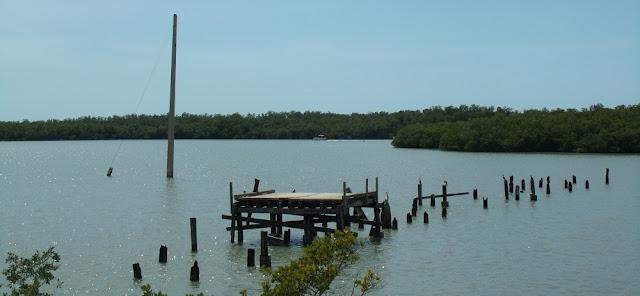 Antiguo puente a Marco Island