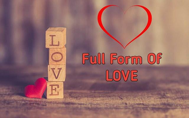 Love क्या है - love ka Full Form हिंदी में