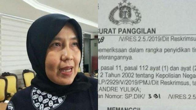 Beredar Surat Polisi Panggil Dokter Ani Hasibuan yang Bongkar Kematian Petugas KPPS