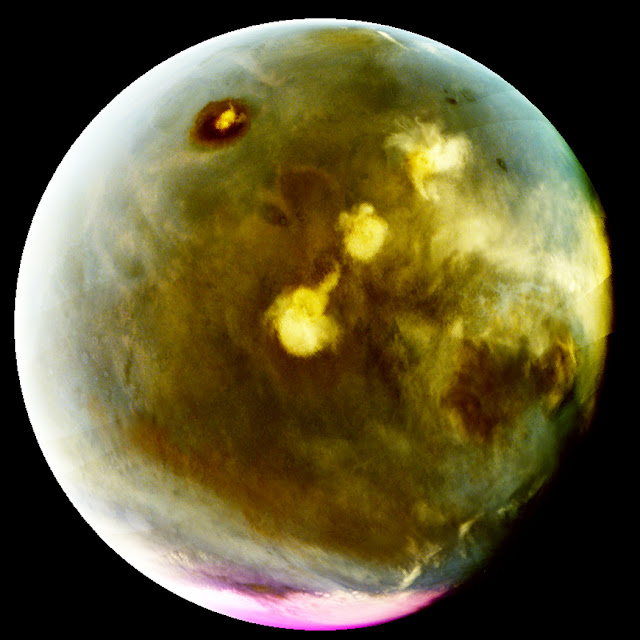 NASA's MAVEN mission gives unprecedented ultraviolet view of Mars