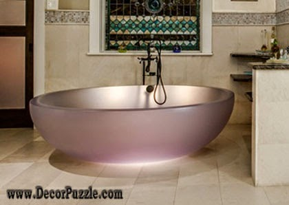 luxury bathtubs for modern bathroom, most expensive bathtub designs