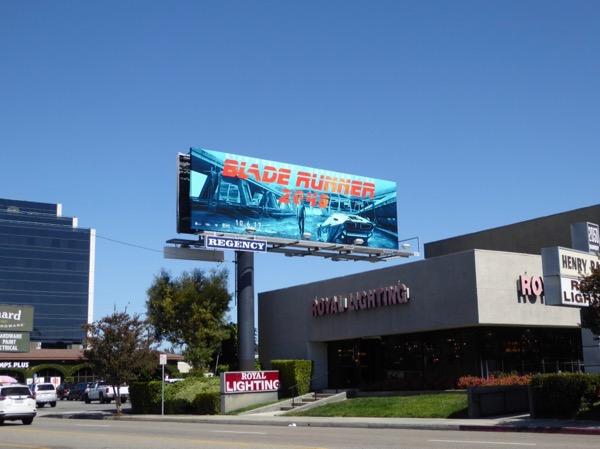 Blade Runner 2049 billboard