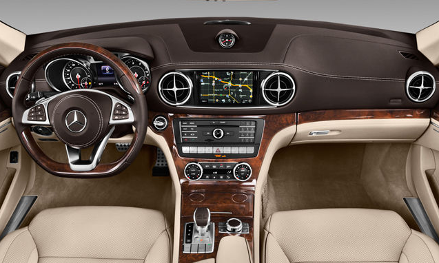 2017 Mercedes-Benz SL Interior