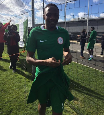 NFF President, Amaju Pinnick Debunks Reports of Ahmed Musa battering his wife