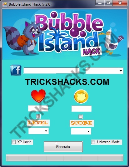 BUBBLE ISLAND CHEATS HACK TOOL 2013