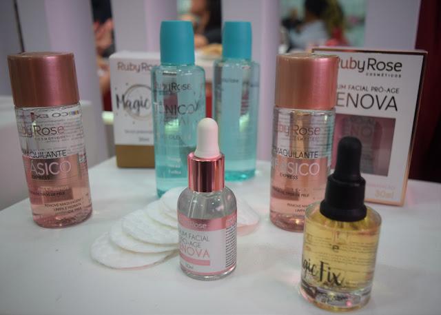 A queridinha das blogueiras apresentou seus lançamentos na Beauty Fair 2018
