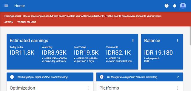 Cara Mengatasi Ads.txt Google Adsense Lengkap