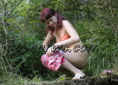PissHunters 9123-9138 (Outdoor voyeur peeing. Voyeur public toilet spy cam)