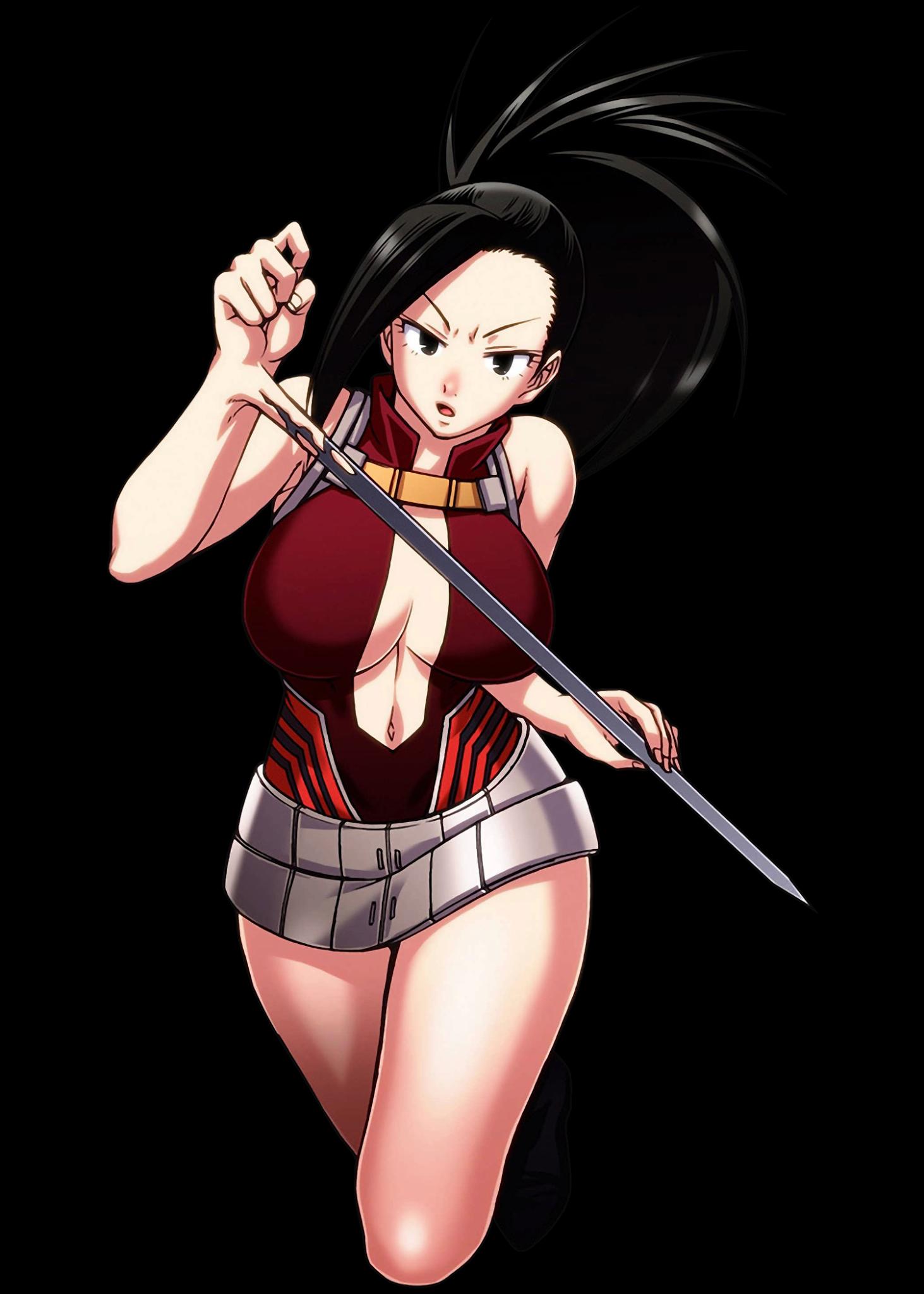 Heroaca - Yaoyorozu Momo