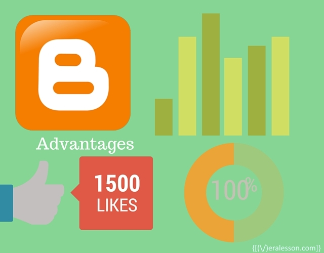 advantages of using blogger