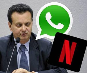 'Não existe necessidade', diz ministro sobre taxar Netflix e WhatsApp
