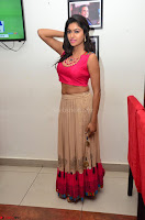 Akshita super cute Pink Choli at south indian thalis and filmy breakfast in Filmy Junction inaguration by Gopichand ~  Exclusive 004.JPG