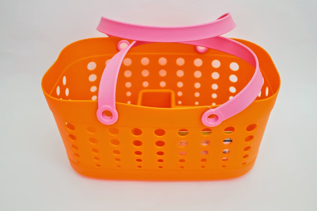 shower tote, the container store