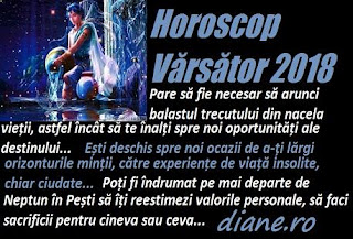 Horoscop 2018 Vărsător