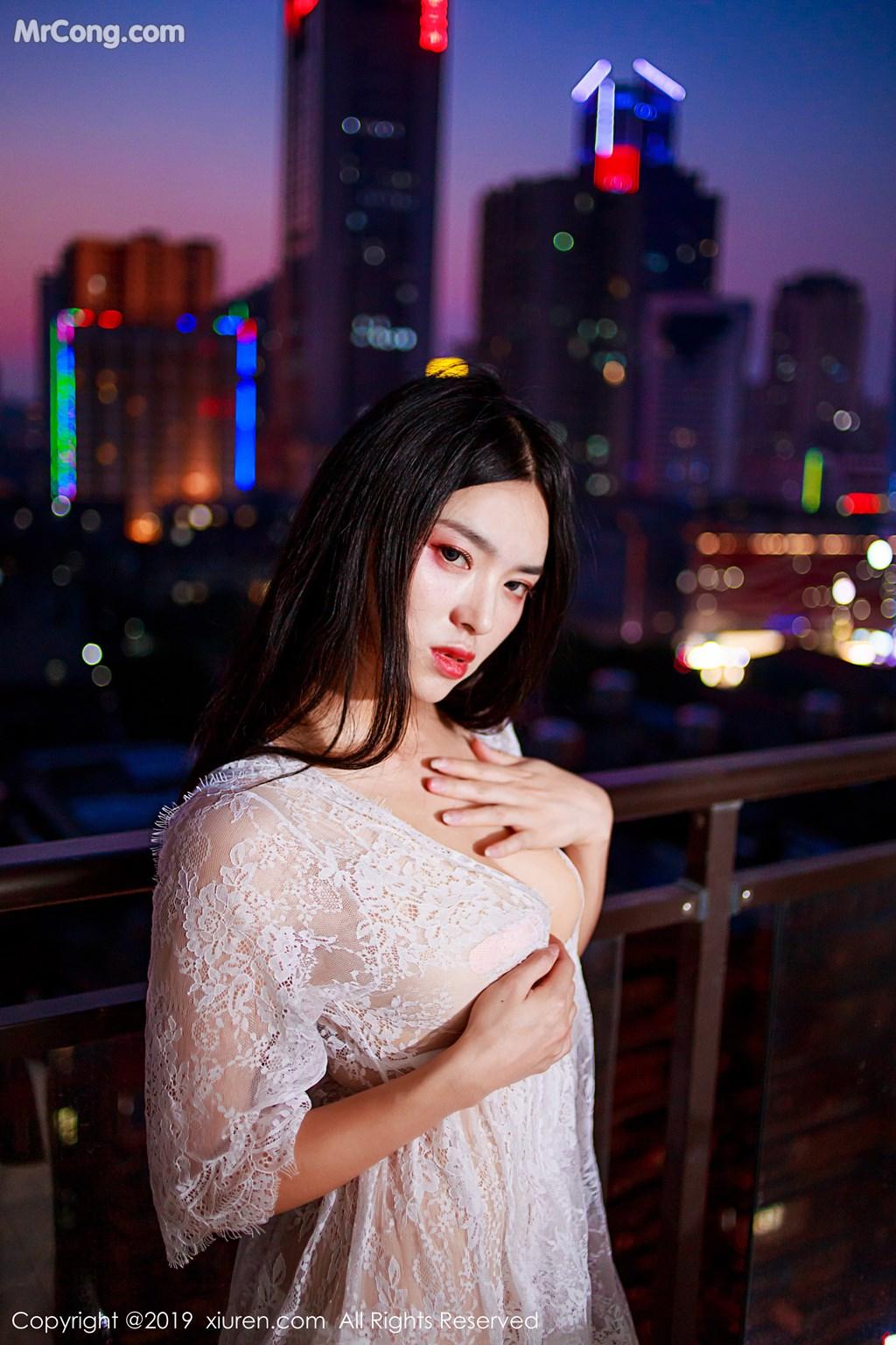 Image XIUREN-No.1715-Jin-Jing-Xi-MrCong.com-001 in post XIUREN No.1715: Jin Jing Xi (金静熙) (51 ảnh)
