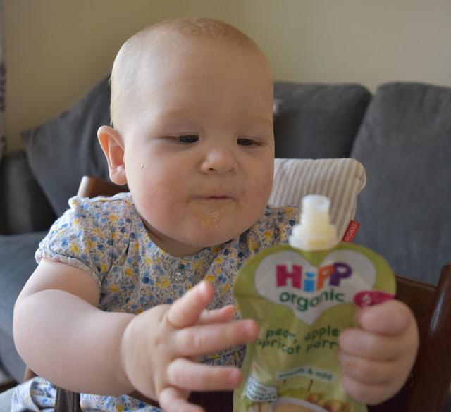 HiPP Organic Porridge Pouches