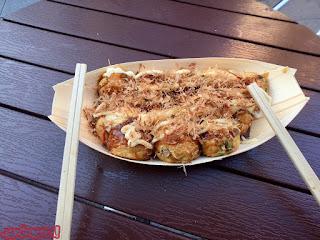 Takoyakis en Dotonbori, Osaka