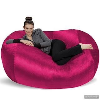 Giant Bean Bag Chair Lounger 7