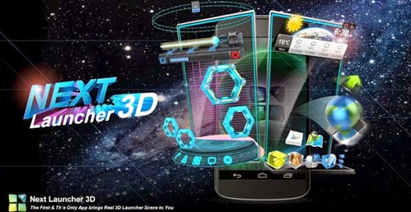 Download Next Launcher 3D free