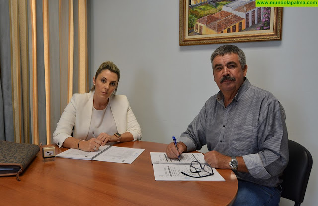El Cabildo contrata por 165.000 euros la pavimentación de la pista cortafuegos de La Tabladita - Pista Serapio