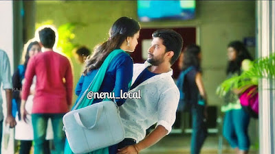 """Nenu Local Champesave Nannu Song lyrics"" in English-Telugu images Text"