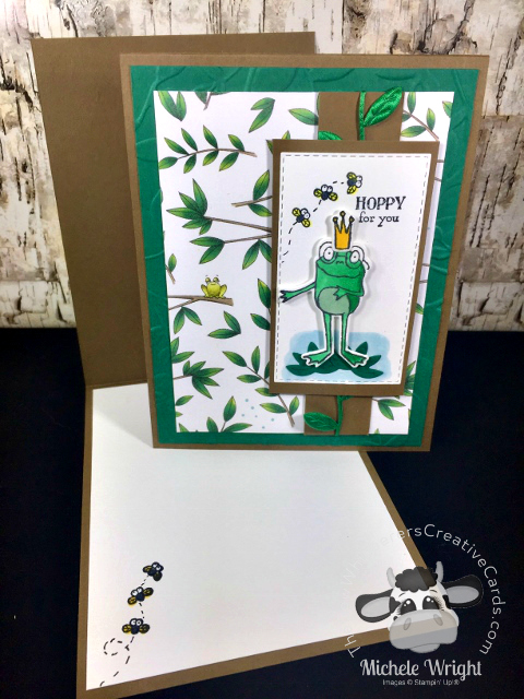 Card, So Hoppy Together, Hop Around Framelits, Animal Expedition Designer Series Paper