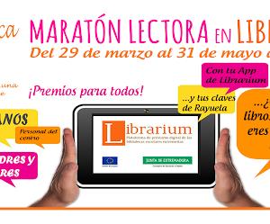 Maratón Lectora en Librarium: ¿cuántos libros eres capaz de leer en dos meses?