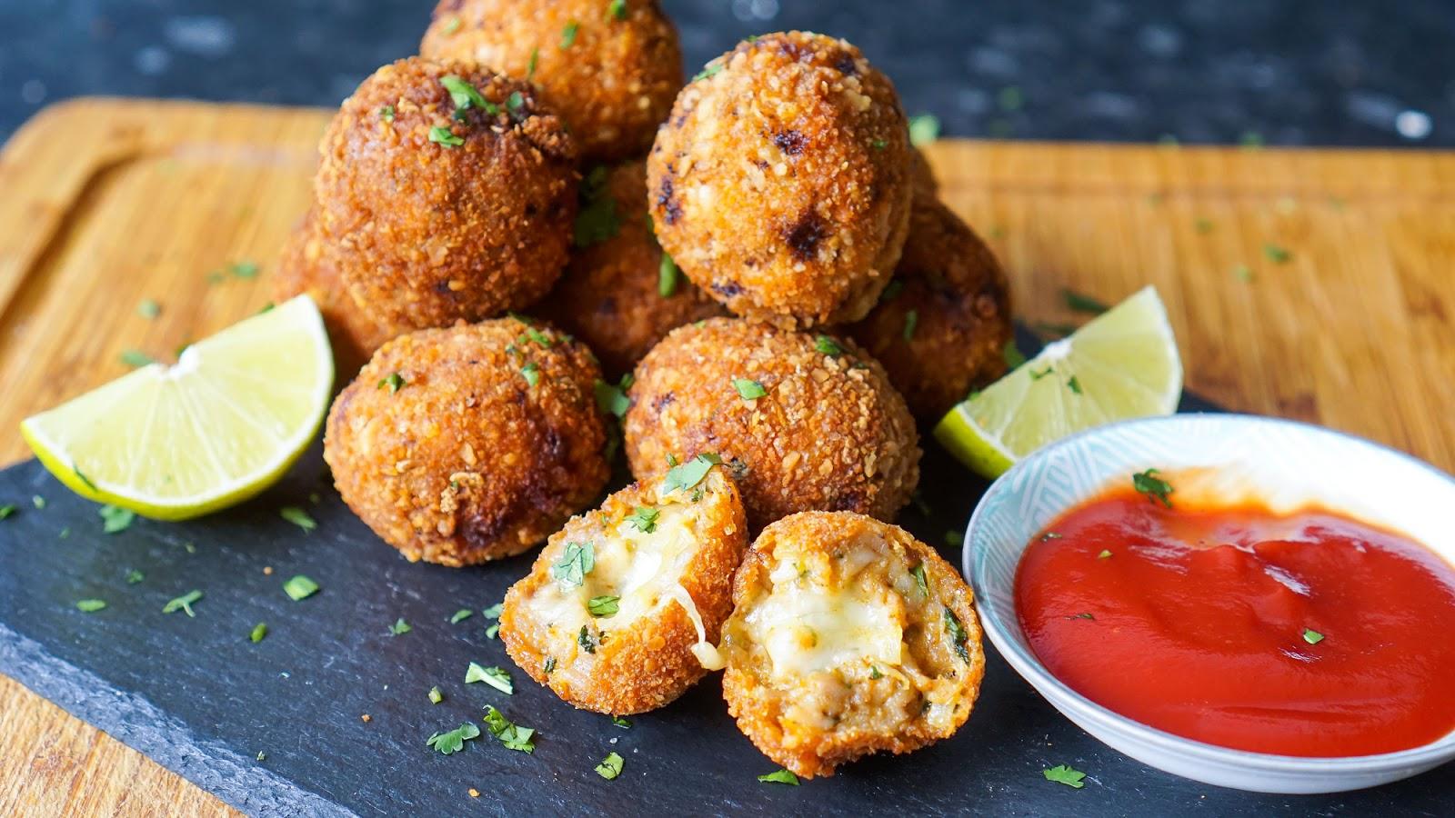 Tandoori Chicken Cheese Balls | Ramadan Recipes