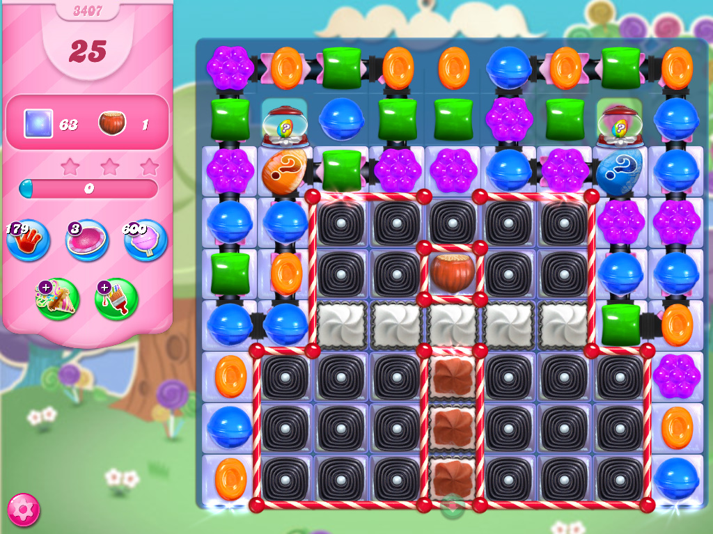 Candy Crush Saga level 3407