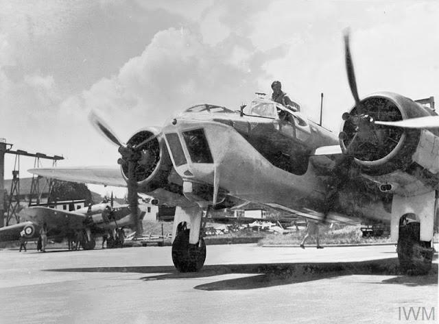 Bristol Blenheim in Singapore 17 June 1941 worldwartwo.filminspector.com