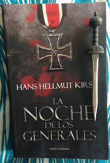 Portada del libro La noche de los generales, de Hans Hellmut Kirst
