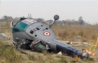 Five Military Personnel Including Pilot, Engineer, Others Dead as Air Force Helicopter Crashes