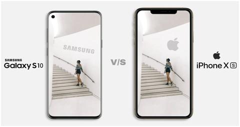 Samsung Galaxy S10 plus VS IPhone XS Max