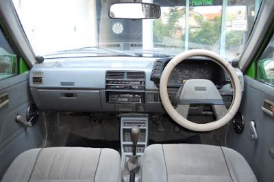Interior Suzuki Forsa