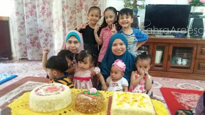 Sambut Hari Lahir Dengan Keluarga