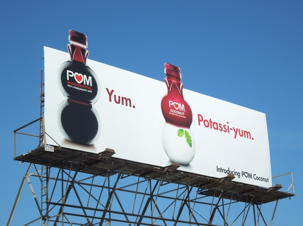 Pom Coconut Yum Potassiyum billboard