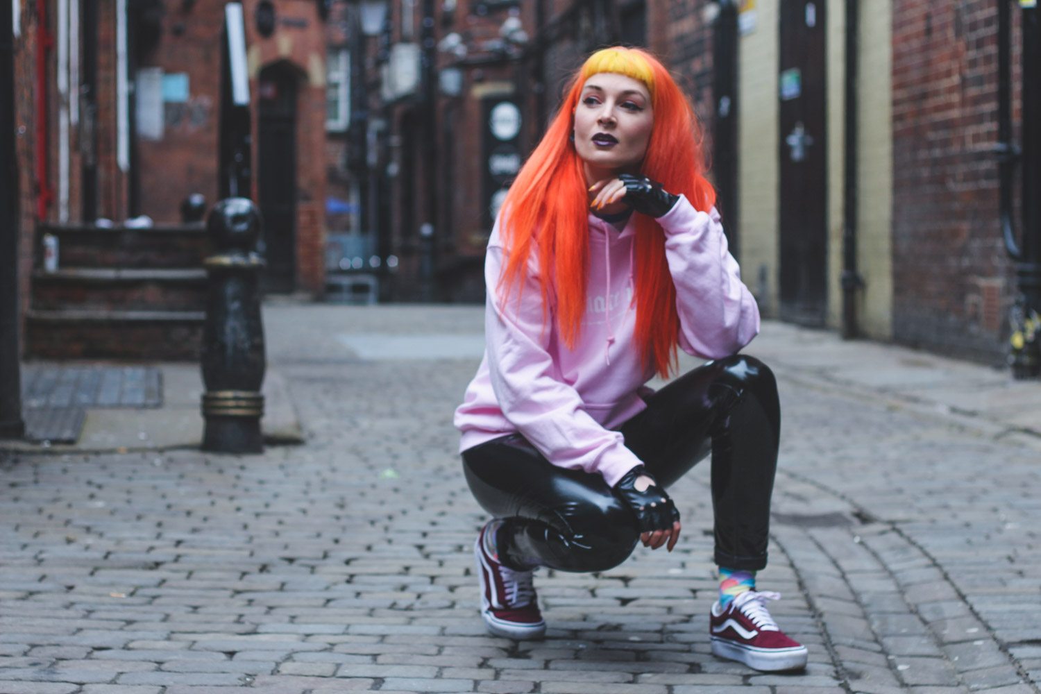Alternative Fashion Blogger Foxxtailz Styles Streetwear